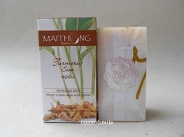 6 X 100g. Maithong Turmeric & Tamarind Herbal Soap Exfoliate Revitalize Skin - $38.00