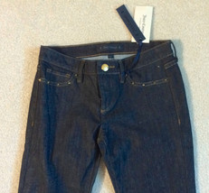 NEW nwt Juicy Couture Jeans Girls Size Sz 10 Skinny Denim Dark Blue Washe image 2