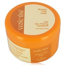 Vedic Line Banana Pulp Mask with Skin-Firming Ingredients 65ml - $9.85
