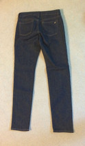 NEW nwt Juicy Couture Jeans Girls Size Sz 10 Skinny Denim Dark Blue Washe image 6