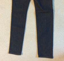 NEW nwt Juicy Couture Jeans Girls Size Sz 10 Skinny Denim Dark Blue Washe image 9