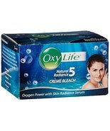 Oxy Life Natural Radiance5 Creme Bleach Oxygen Power with Skin Radiance ... - $4.95