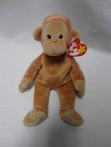 TY Beanie Baby Bongo the Monkey August 17th 1995 - $8.02