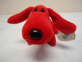 Ty Beanie Baby 1996 Rover the Red Dog Swing Tag Name and Style 4101 PVC ... - $50.00