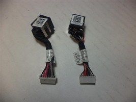 Lot of 2 GENUINE Dell Latitude E6320 DC IN Power Jack Cable G9PG3 - $8.69