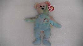 Ty Beanie Baby Original Peace Bear 1996 - $5.94