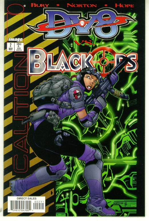 DV8 vs BLACKOPS #2 (Image Comics) NM!