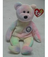 TY Beanie Baby B B Bear the Birthday Beanie 1999 - $10.58