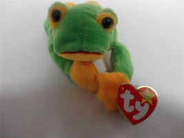 TY Beanie Baby Smoochy The Frog 1997 with Mint Tags - $9.75