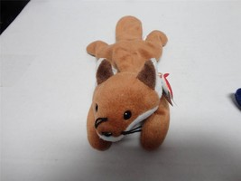 TY Beanie Baby Sly the Fox with PVC Pellets 1996 - $10.00