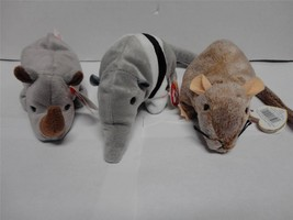 TY Beanie Babies Ants 1997 Tiptoe 1999 and Spike 1996 with Tags Lot of 3 - $10.00