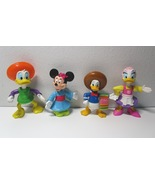 4 Walt Disney PVC Figures -Minnie Mouse -Donald Duck -Daisy Duck - $7.99