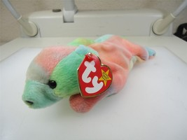 TY Beanie Baby Sammy The Tye Dyed Bear 1998 Retired Good Condition - $3.71