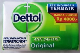 Dettol Anti-Bacterial Hand and Body Bar Soap, Original, 110 Gr / 3.88 Oz... - $19.38