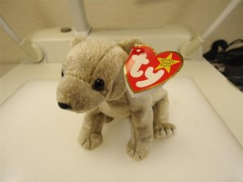 TY Beanie Baby Almond The Bear 1999 Retired Great Condition Smoke Free Home - $3.71