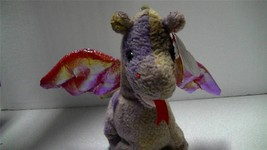 Ty Beanie Baby Original 1998 Scorch The Flying Dragon with Tags - $8.91