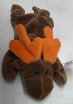 TY Beanie Baby Chocolate The Moose 1993 Mint Heart Tag - $9.62