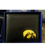 Iowa Hawkeyes Licensed Ncaa Mens Black Leather ... - $19.00