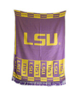 LSU Louisiana State Tigers Licensed Ncaa Shawl ... - $34.00