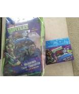Teenage Mutant Ninja Turtles TMNT Twin/Single Size 4 Piece Comforter She... - $75.00