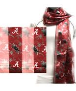 Alabama Crimson Tide Ncaa Floral Scarf - $15.00