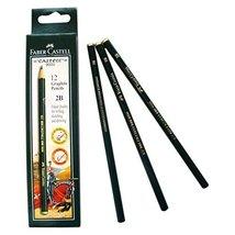 FC-90-DP6 Faber-Catell set of 6 Drawing Pencils includes 2B, 3B, 4B, 5B, 6B &... - $3.95