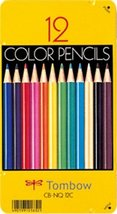 12 Color Pencil Cans Tonboenpitsu [Office Product] - $3.97