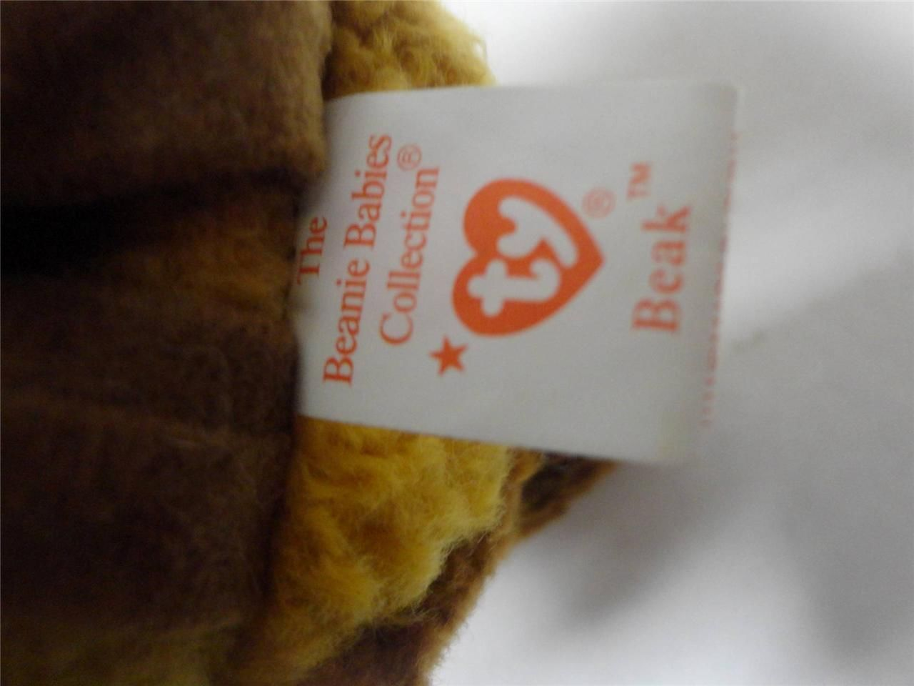 TY Beanie Babies Gobbles 1996 Beak 1998 and Gracie 1996 Mint with Tags Lot of 3