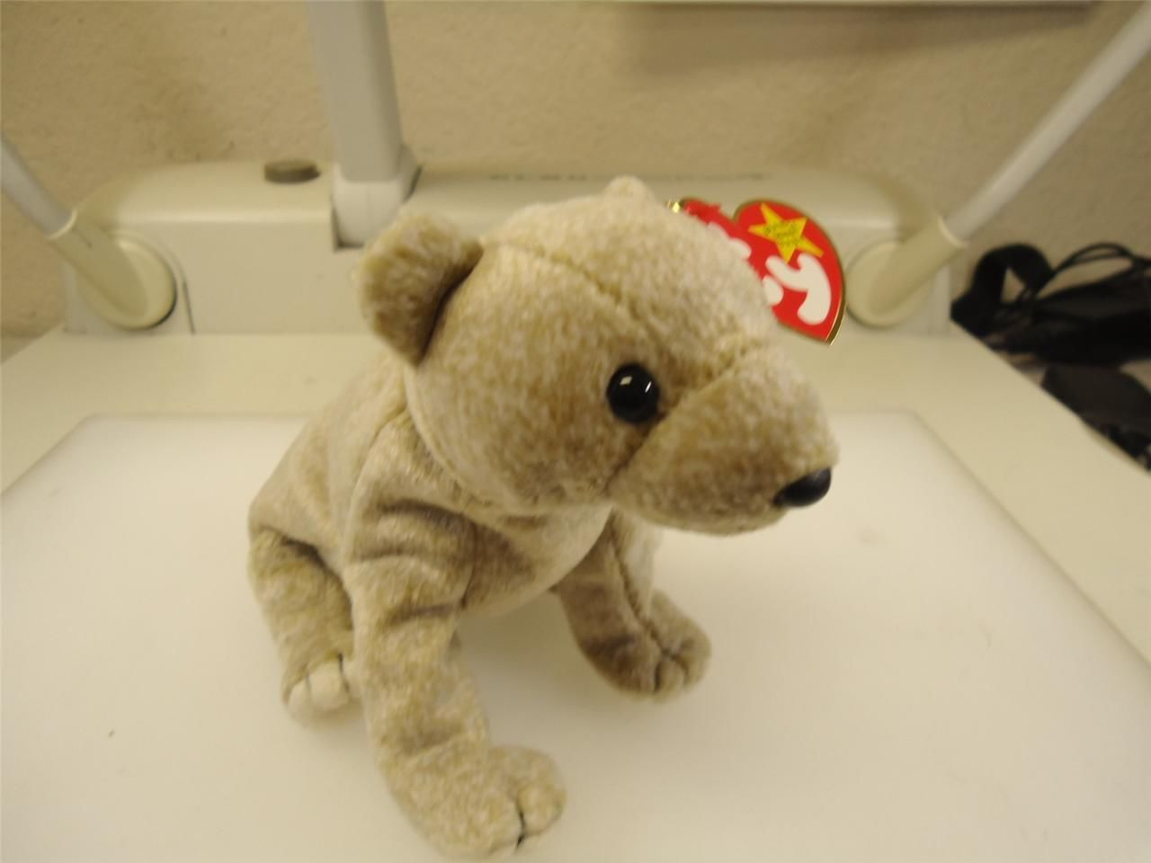 TY Beanie Baby Almond The Bear 1999 Retired Great Condition Smoke Free Home