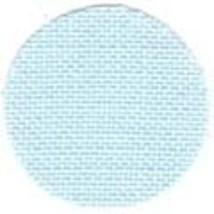 FABRIC CUT 32ct ice blue belfast linen 9x9 Bluebird Tweet Just Nan - $6.00
