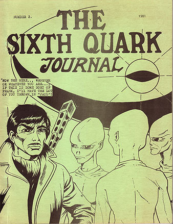 The Sixth Quark Journal Number 2 (1981 UFO Journal)