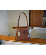Authentic Michael Kors Whitney Large Tote Clear Chestnut New W/Tag Retai... - $138.59