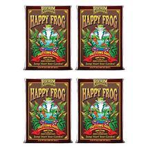 (4) FOXFARM FX14047 pH Adjusted Happy Frog Organic Potting Soil Bags | 8... - $145.48