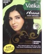 Dabur Vatika Natural Black Henna [Health and Beauty] Deep - $5.93
