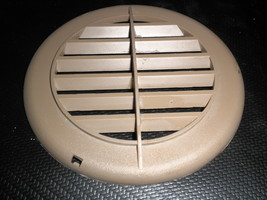 """RV 5 3/8"""" Brown Plastic Vent Grille / Cover - $4.95"""