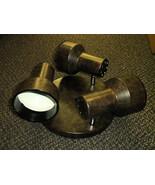 "Sunlink 3 Light 10"" Brown Spotlight Ceiling Light #LF-102001-155 - $21.78"