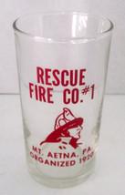 Vintage Fire Company Rescue #1 Mt Aetna PA Volu... - $23.19