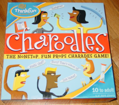 CHAROODLES CHARADE GAME 2004 THINKFUN COMPLETE EXCELLENT - $25.00