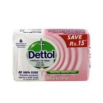 Dettol Skincare Soap 120g soap bar [Health and Beauty] - $2.14