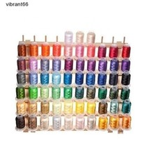 Brother 63 Color Machine Thread Stitch Quilt Em... - $60.88