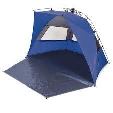 Blue sun shelter