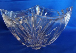 Large Lead Crystal Shannon Square Candy Nut Dish Bowl Ireland - $44.00