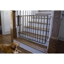 Cardinal Wrought Iron Decor Dog Gate - Black 961-WI-30-BK - $130.34