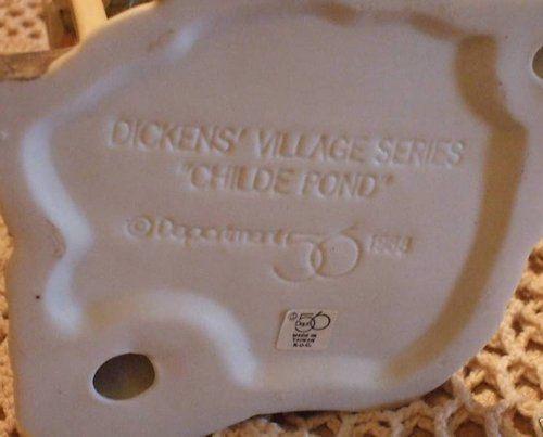 Dept 56 * Dickens Village * Childe Pond * Retired 1991