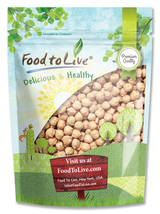Food to Live Garbanzo Beans (Chickpea) (5 Pounds) - $17.98