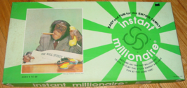 INSTANT MILLIONAIRE BOARD GAME 1976 MAR DEE COMPLETE EXCELLENT  - $25.00