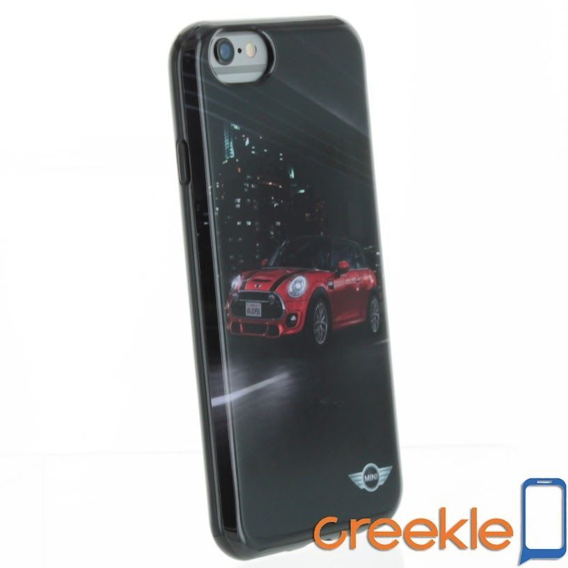 "Licensed Mini Cooper TPU Case STREET CARS for iPhone 6 (4.7"") (Black & Red)"