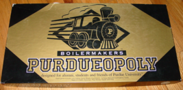 PURDUEOPOLY BOILERMAKERS PURDUE UNIVERSITY GAME LATE FOR THE SKY COMPLET... - $20.00