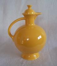 Fiestaware Vintage Yellow Carafe Fiesta - $99.95