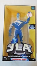 New 1999 JLA Justice League of America Superman Blue by DC & Hasbro - $19.80